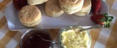 Home made Devon Cream Tea