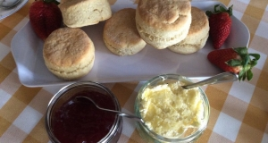 Home made Devon Cream Tea